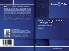 Portada del libro de Baha´i – Religion und Grundgesetz