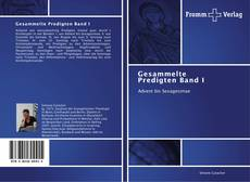 Capa do livro de Gesammelte Predigten Band I
