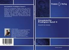 Capa do livro de Gesammelte Predigten Band II