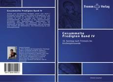 Capa do livro de Gesammelte Predigten Band IV