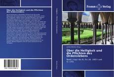 Buchcover von Über die Heiligkeit und die Pflichten des Ordenslebens