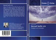 Capa do livro de Darauf hoffe ich