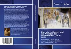 Обложка Über die Heiligkeit und die Pflichten des Ordenslebens, Bd. I - Teil 2