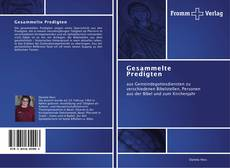 Capa do livro de Gesammelte Predigten