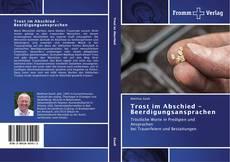Trost im Abschied - Beerdigungsansprachen kitap kapağı