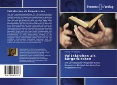 Copertina di Volkskirchen als Bürgerkirchen