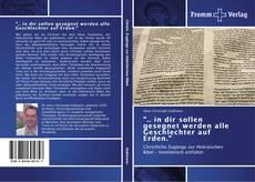"""Capa do livro de """".. in dir sollen gesegnet werden alle Geschlechter auf Erden."""""""