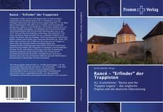 """Portada del libro de Rancé - """"Erfinder"""" der Trappisten"""