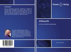 Bookcover of Allmacht