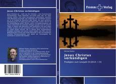 Couverture de Jesus Christus verkündigen