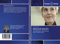 Capa do livro de Dennoch positiv
