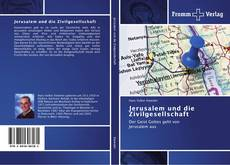 Portada del libro de Jerusalem und die Zivilgesellschaft