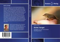 Buchcover von Keine Sorge!