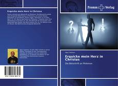 Bookcover of Erquicke mein Herz in Christus