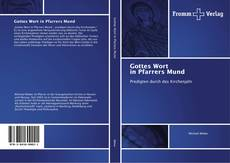 Bookcover of Gottes Wort in Pfarrers Mund
