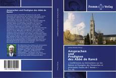 Copertina di Ansprachen und Predigten des Abbé de Rancé