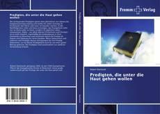 Capa do livro de Predigten, die unter die Haut gehen wollen