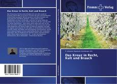 Capa do livro de Das Kreuz in Recht, Kult und Brauch