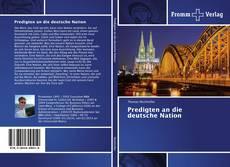 Buchcover von Predigten an die deutsche Nation