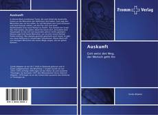 Bookcover of Auskunft