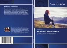 Capa do livro de Beten mit allen Sinnen
