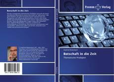 Buchcover von Botschaft in die Zeit
