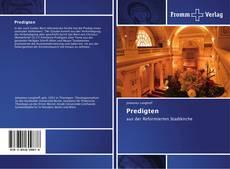 Capa do livro de Predigten
