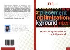 Couverture de Dualité en optimisation et contrôle optimal