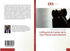 Bookcover of L'efficacité de l'action de la Cour Pénale Internationale