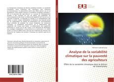 Couverture de Analyse de la variabilité climatique sur la pauvreté des agriculteurs