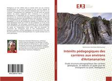 Portada del libro de Intérêts pédagogiques des carrières aux environs d'Antananarivo