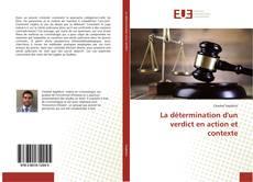 Bookcover of La détermination d'un verdict en action et contexte