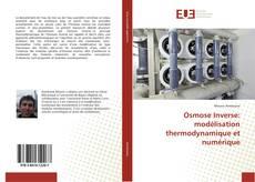 Обложка Osmose Inverse: modélisation thermodynamique et numérique