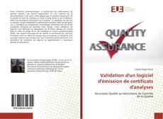 Copertina di Validation d'un logiciel d'émission de certificats d'analyses