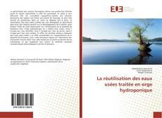 Buchcover von La réutilisation des eaux usées traitée en orge hydroponique