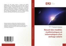 Buchcover von Recueil des modèles mathématiques et informatiques d'un séchage solaire