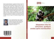 Portada del libro de Adaptation chez les Lémuriens, quelques années après translocation