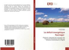 Le déficit énergétique fourrager的封面