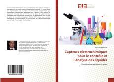 Bookcover of Capteurs électrochimiques pour le contrôle et l'analyse des liquides