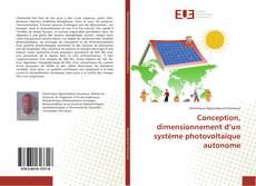 Couverture de Conception, dimensionnement d'un système photovoltaïque autonome