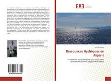 Ressources Hydriques en Algerie的封面