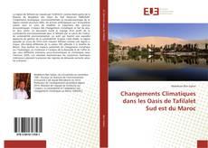 Bookcover of Changements Climatiques dans les Oasis de Tafilalet Sud est du Maroc