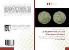 Couverture de Le devenir de la finance islamique en France