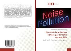 Couverture de Etude de la pollution sonore par le trafic automobile