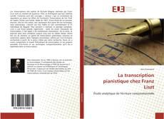 Обложка La transcription pianistique chez Franz Liszt