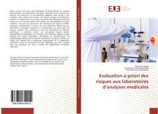 Evaluation à priori des risques aux laboratoires d'analyses medicales的封面
