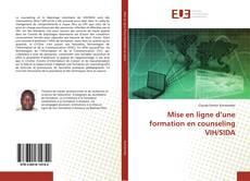 Buchcover von Mise en ligne d'une formation en counseling VIH/SIDA