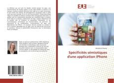 Buchcover von Spécificités sémiotiques d'une application iPhone