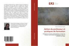 Portada del libro de Action du professeur et pratiques de formation