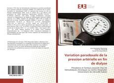 Обложка Variation paradoxale de la pression artérielle en fin de dialyse